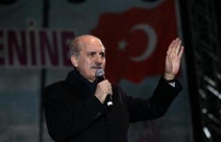 Kurtulmuş: Referandum küçük Türkiye ile büyük...