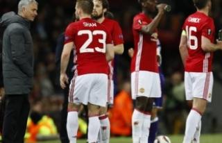Manchester United - Anderlecht maçını izlerken...