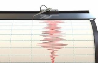 Manisa'da 4 Büyüklüğünde Deprem Meydana...