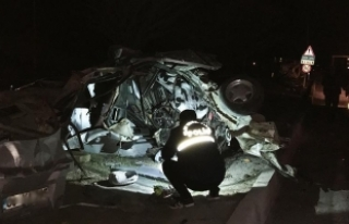 Mardin'de trafik kazası: 2 şehit oldu, 1 yaralı