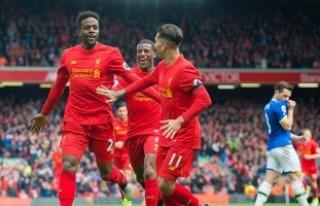 'Merseyside' derbisi Liverpool'un
