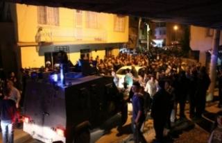 Mersin'de Suriyeliler ile mahalleli arasında...