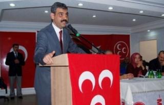 MHP Kızılcahamam İlçe Başkanı Tekin hayatını...