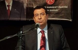 """MHP'li Tanrıkulu: """"Güçlü ve Büyük Türkiye""""..."""