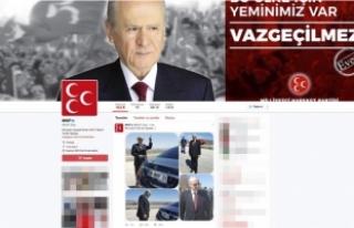 MHP Sosyal Medyadan 'Bahçeli fotoğrafları'