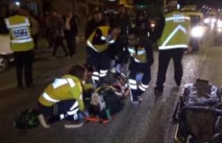 Motosiklet Yayaya Çarptı: 1 Ölü, 1 Yaralı