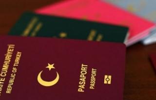 Diplomatik ve hizmet pasaportlu 768 kişi Almanya'da...