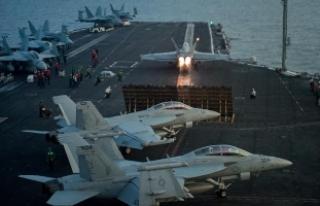 Pentagon'dan 'Carl Vinson Uçak Gemisi'...