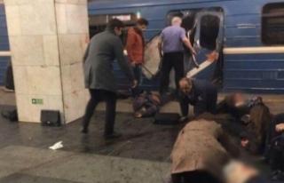 Rusya'da metroda patlama: En az 10 ölü