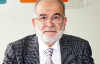 Saadet Partisi Genel Başkanı Karamollaoğlu: Halkın...