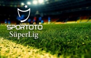Spor Toto Süper Lig'de haftanın görünümü