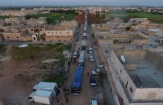 Suriye'de rejim kuşatmasındaki Vaer'den...