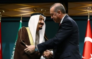 Suudi Arabistan Kralı Selman'dan Cumhurbaşkanı...