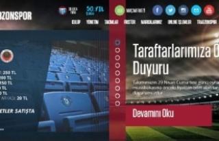 Trabzonspor'dan bilet açıklaması