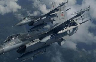 TSK'dan hava harekatı: 16 terörist etkisiz...