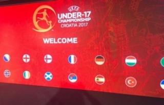 UEFA 17 Yaş Altı Avrupa Şampiyonası'nda rakiplerimiz...