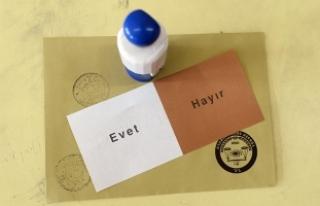 YSK Başkanı Güven: 'EVET' mührünün...