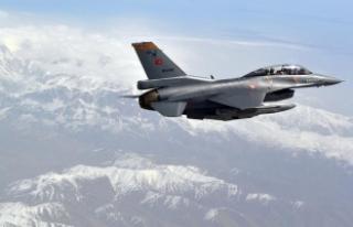 Zap bölgesine hava harekatı: 6 terörist etkisiz...