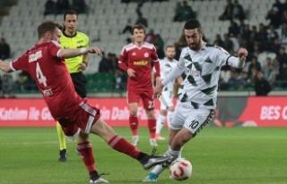 Ziraat Türkiye Kupası'nda Atiker Konyaspor...