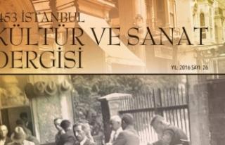 1453 İstanbul Kültür ve Sanat Dergisi kapatıldı