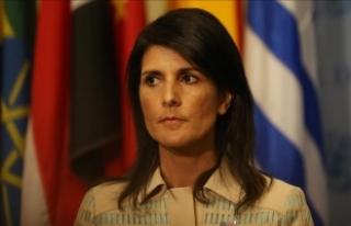"""""""Kimyasal silah kullanımını tolere eden ülkelerin..."""