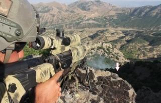 """PKK'nın sözde """"Tendürek Dağı Kuzeyi..."""