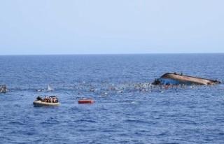 Akdeniz'de ölen sığınmacı sayısı bin 350'yi...