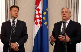 AP Başkanı Tajani: AB büyük meselelerle karşı...