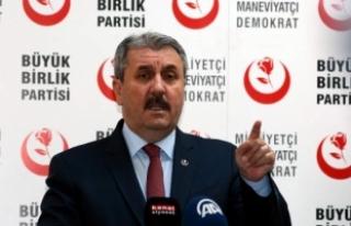 Destici'den Srebrenitsa açıklaması