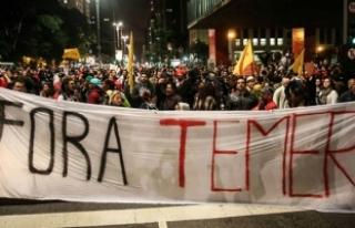 Brezilya devlet başkanına 'adaleti engelleme'...