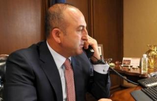 Çavuşoğlu Rus mevkidaşı Lavrov ile telefonda...