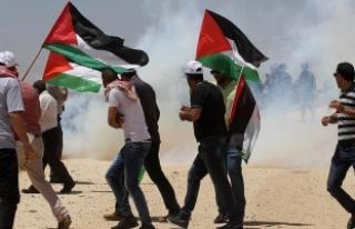 Gazzeliler 'açlık grevindeki tutuklular'...