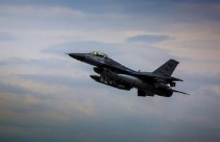 PKK hedefleri savaş uçakları ve silahlı İHA'lar...