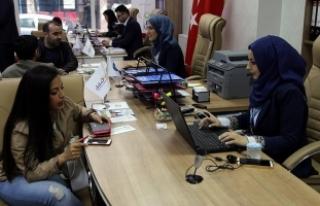 İstanbul'da Suriyeliler için iş bulma ofisi...