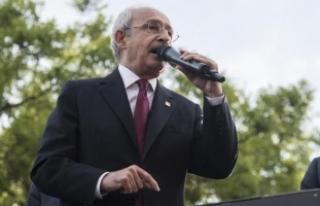 Kılıçdaroğlu: Yasağı getirmelerinin nedeni korkularındandır