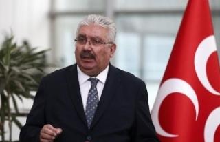 MHP'li Yalçın: Kızılelma'ya yürüyen kutlu...