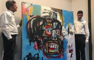 Ressam Basquiat'ın müzayede rekoru: 110,5 milyon...