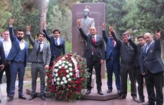 Ülkü Ocakları Genel Başkanı Olcay Kılavuz Azerbaycan'ı...