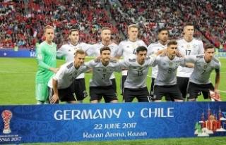 2017 FIFA Konfederasyonlar Kupası'nda Almanya,...