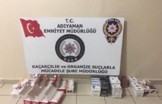 Adıyaman'da kaçak sigara operasyonu: 11 gözaltı