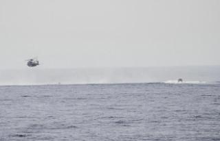 'Akdeniz'de 126 göçmeni taşıyan bot...