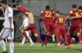 Galibiyete hasret takım: Andorra