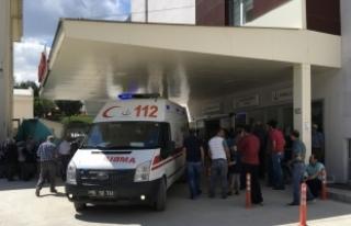Burdur'da işçileri taşıyan otomobil devrildi:...