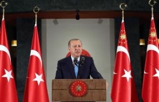 Cumhurbaşkanı Erdoğan: Sizlerden mahkemelerde hazır...
