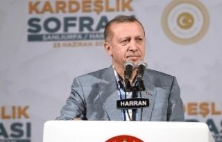 Cumhurbaşkanı Erdoğan: Türkiye'yi itham etmelerinin...