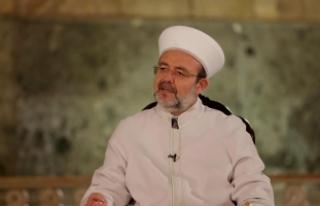 Diyanet İşleri Başkanı Görmez: Kur'an kurslarımızda...
