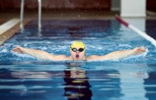 Down sendromlu yüzücünün hedefi Avrupa şampiyonluğu