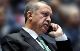 Erdoğan, Birleşik Krallık Başbakanı May ile telefonda...