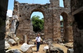 Fethin sembolü cami restore ediliyor