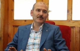 İçişleri Bakanı Soylu, Çukurca'da güvenlik...